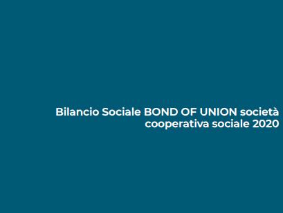 <b>Bilancio Sociale Bond of Union</b><br />News